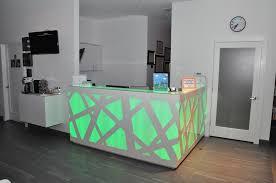 Upholstered Reception Desk Light Up Reception Desk At Preminger Pediatric Dentistry My