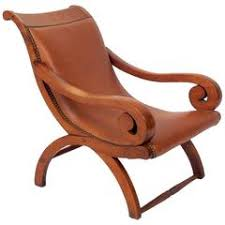 Small Leather Armchair Small Leather Chair Attributed To William Spratling At 1stdibs