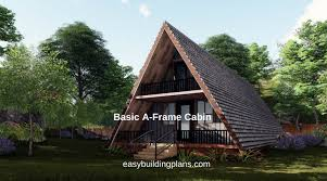 a frame house plans with garage free a frame cabin plans easybuildingplans