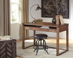 Modern Wood Desk Amazon Com Signature Design By Ashley H587 10 Baybrin Home Office