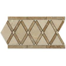 Decorative Accents For The Home by Daltile Stone Decorative Accents Crackle Fantasy 1 7 8 In W X 12