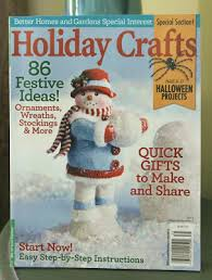 Better Homes And Gardens Christmas Crafts - check out my snowman project in the 2013 better homes u0026 gardens