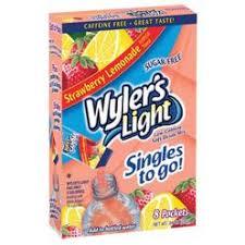 wyler s light singles to go nutritional information wyler s light beverages kmart