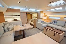 80s Interior Design Swan 80s Sailing Yacht I Amsterdam Saloon View Forward Photo