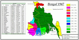 Flag Of Bengal Pakistan Geotagging Partitions Of Bengal In 1905 And 1947