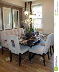 sala pranzo sala da pranzo moderna fotografia stock immagine di tabella