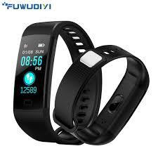 activity bracelet images Fuwudiyi y5 smart bracelet heart rate monitor fitness bracelet jpg