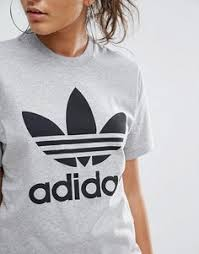 adidas originals sweatshirt with trefoil logo medium or large