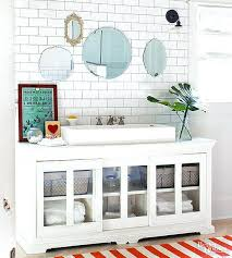 vanities diy vanity mirror pinterest and then nail trim on with