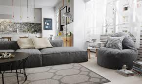Wohnbeispiele Wohnzimmer Modern Hervorragende Einrichtungen In Nordic Style Trendomat Com