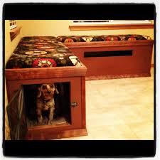 Kitchen Nook Bench by Breakfast Nook Bench Seating That Doubles As A Dog Kennel For