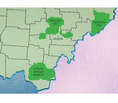 Athens Ohio Map by Debate Over Fracking In Ohio U0027s Only National Forest Is Heating Up