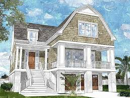 narrow waterfront house plans elevated house plans beach house internetunblock us