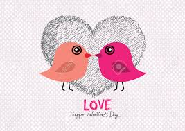 love birds for wedding card royalty free cliparts vectors and