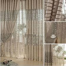 Pattern Window Curtains Aliexpress Com Buy Warp Knitting Leaf Pattern Tulle Window