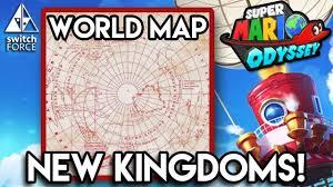 odyssey map mario odyssey all kingdoms analysis kingdoms