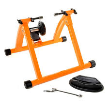 Indoor Bike Conquer Indoor Bicycle Cycling Trainer Exercise Stand Buy Orange