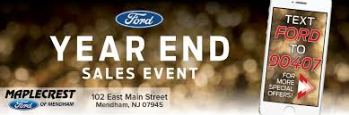 ford commercial logo mendham u0027s maplecrest ford new 2017 2018 and used ford cars near