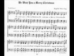 we wish you a merry alto