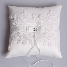 wedding pillows western style new with lace butterfly diamond wedding