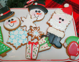christmas cookie gifts christmas cookies etsy