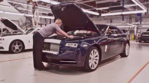 roll royce wood rolls royce manufacturing plant car factory youtube