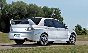 mitsubishi evolution 2005 best cars for 20k u2013 feature u2013 car and driver