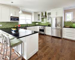 green backsplash kitchen green backsplash houzz