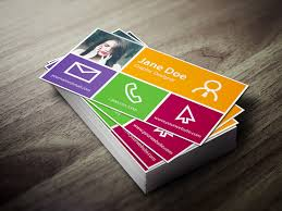 business card design with photoshop card design ideas
