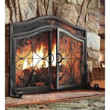 fireplace screens with glass doors binhminh decoration