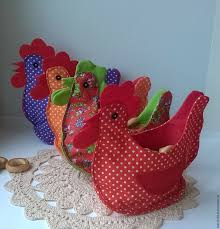 Easter Decorations To Buy Online by Buy Basket The Hen Textile On Livemaster Online Shop