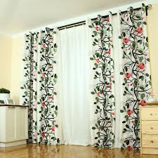 Curtain For Girls Room Beautiful Printed Floral Cotton Curtain For Country Cottage Or