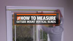 how to measure for outside mount vertical window blinds decor