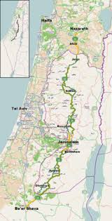 sheva israel map highway 60 israel