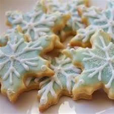 snowflake cookies snowflake cookies recipe allrecipes