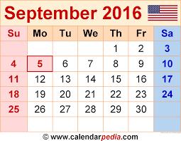 2016 calendar with usa holidays