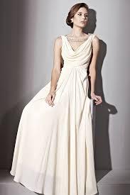 jeweled wedding dresses jeweled cowl neck wedding dress by elliot