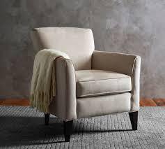 Pottery Barn Armchair Impressive Upholstered Armchair Irving Upholstered Armchair