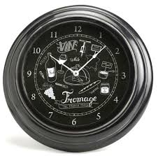 horloge cuisine horloge pour cuisine vin fromage