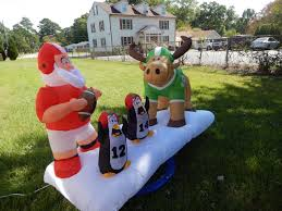 Inflatable Christmas Decorations For The Yard by Standard Concesson Supply Christmas Inflatables