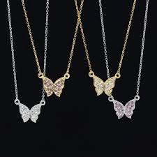 swarovski platinum necklace images Accessorykanon papillon necklace swarovski swarovski crystal jpg