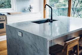 Euro Design Kitchen by Carrara Marble Kitchen Cremorne Home Euro Natural Stone Island