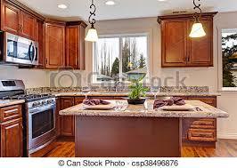 cuisine plancher bois moderne plancher bois dur compteur tops granit image