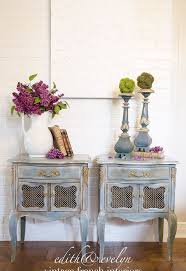 transforming french nightstands with paint and mouldings hometalk