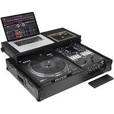 is black hardware in style odyssey innovative designs black label glide style dj coffin for rane seventy two mixer twelve controller black hardware