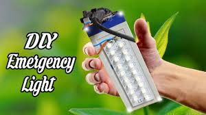 rechargeable light for home how to make rechargeable led light at home youtube