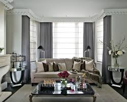Curtains In A Grey Room Wonderful Grey Living Room Curtains Inspiration With Dazzling