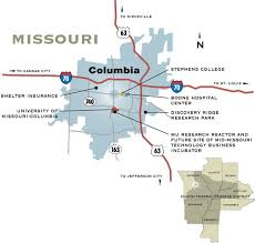 missouri map columbia community profile sciences help college town of columbia mo