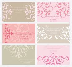 6 elegant business cards templates royalty free cliparts vectors