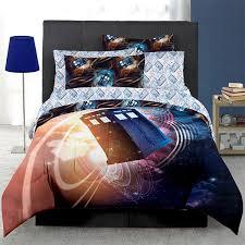 doctor who floating tardis bed in a bag thinkgeek